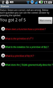 Math Quiz High School- screenshot thumbnail