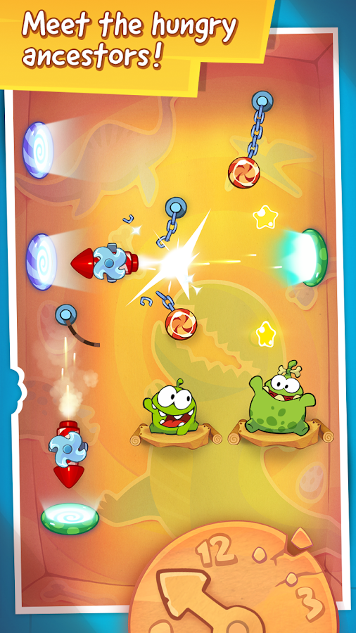 Cut the Rope: Time Travel- screenshot
