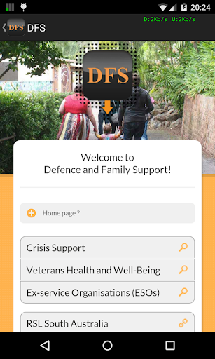 DFS Defence Family Support Aus