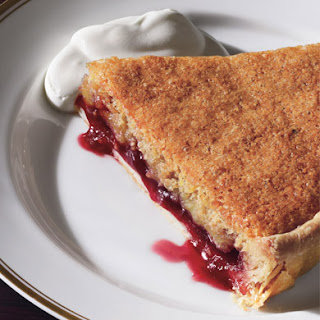 Bakewell Tart with Raspberry Preserves