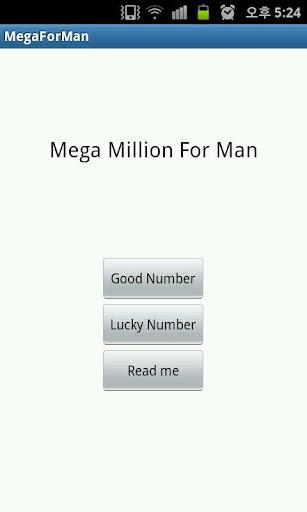 Mega Million For Man