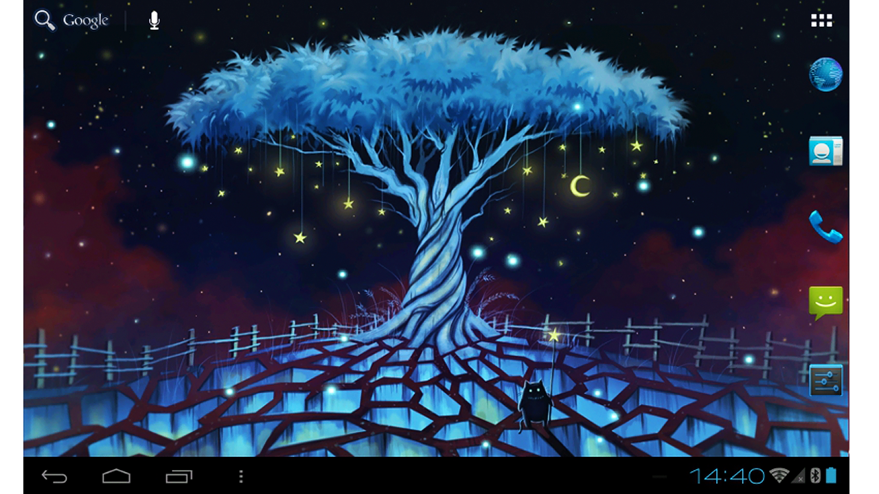 Star home : Glowing magic land Live wallpaper - Android ...
