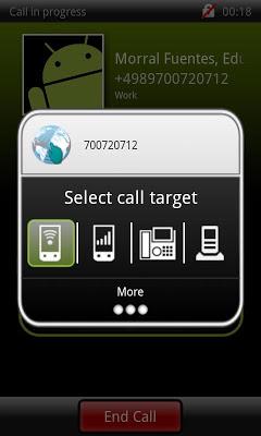 OpenScape Mobile - screenshot