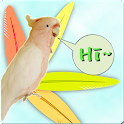 parrot sound effects icon