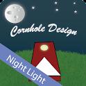 Cornhole Design Night Light