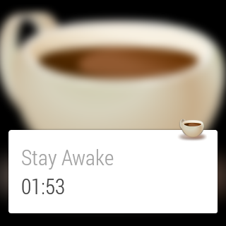Wear - Stay Awake- screenshot