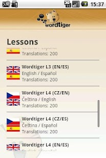 Wordtiger - language learning- screenshot thumbnail