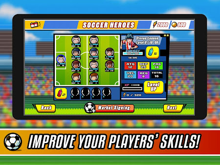 Soccer Heroes RPG 1.1.0 screenshot 38030