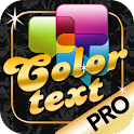 Pimp My Text Pro – Color text logo