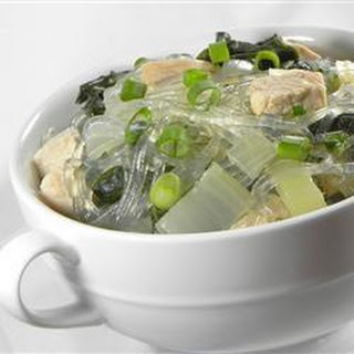 Chicken and Rice Vermicelli Soup