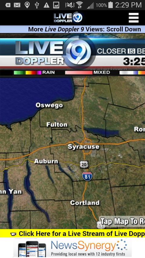 Storm Team 9 WSYR Syracuse- screenshot