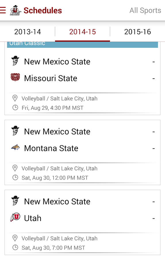 NMStateAggies: Free- screenshot