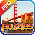 Famous Bridges Puzzles Pro icon