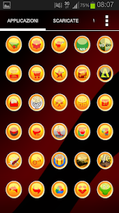 Yellow Circle Icon Pack- miniatura screenshot