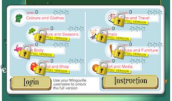 Screenshot of Kids English Spelling!