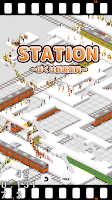 Screenshot of STATION-Train Crowd Simulation