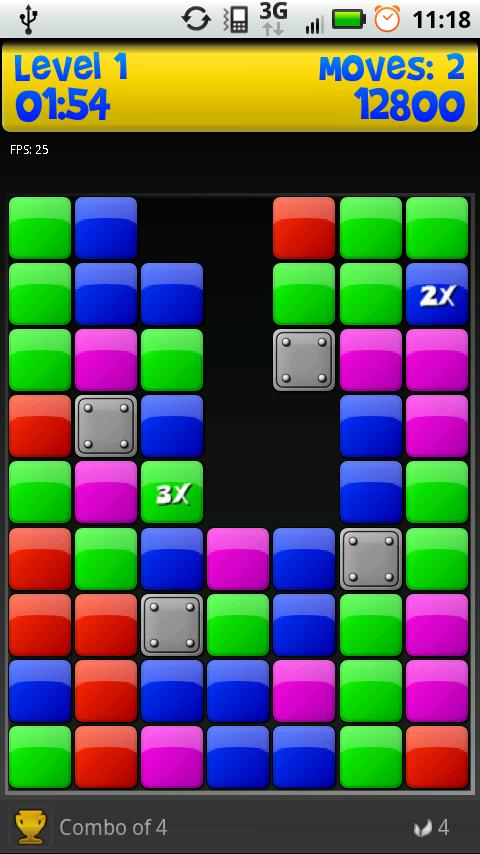 Puzzle Blox Arcade! FREE&FULL- screenshot
