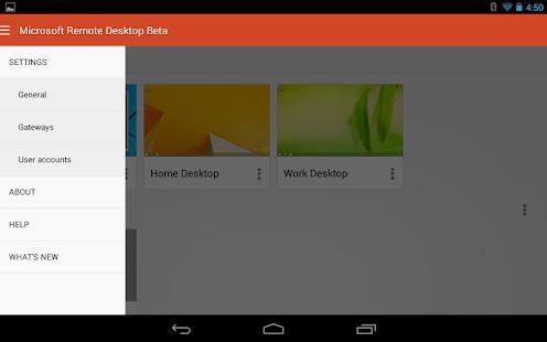 Microsoft Remote Desktop Beta Screenshot 12