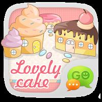 GO SMS Pro LovelyCake Theme EX 1.0