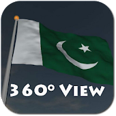 Real Pakistan Flag Live Wall+