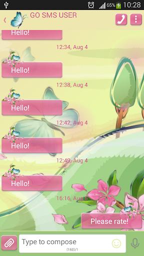 GO短信加强版夏日微风