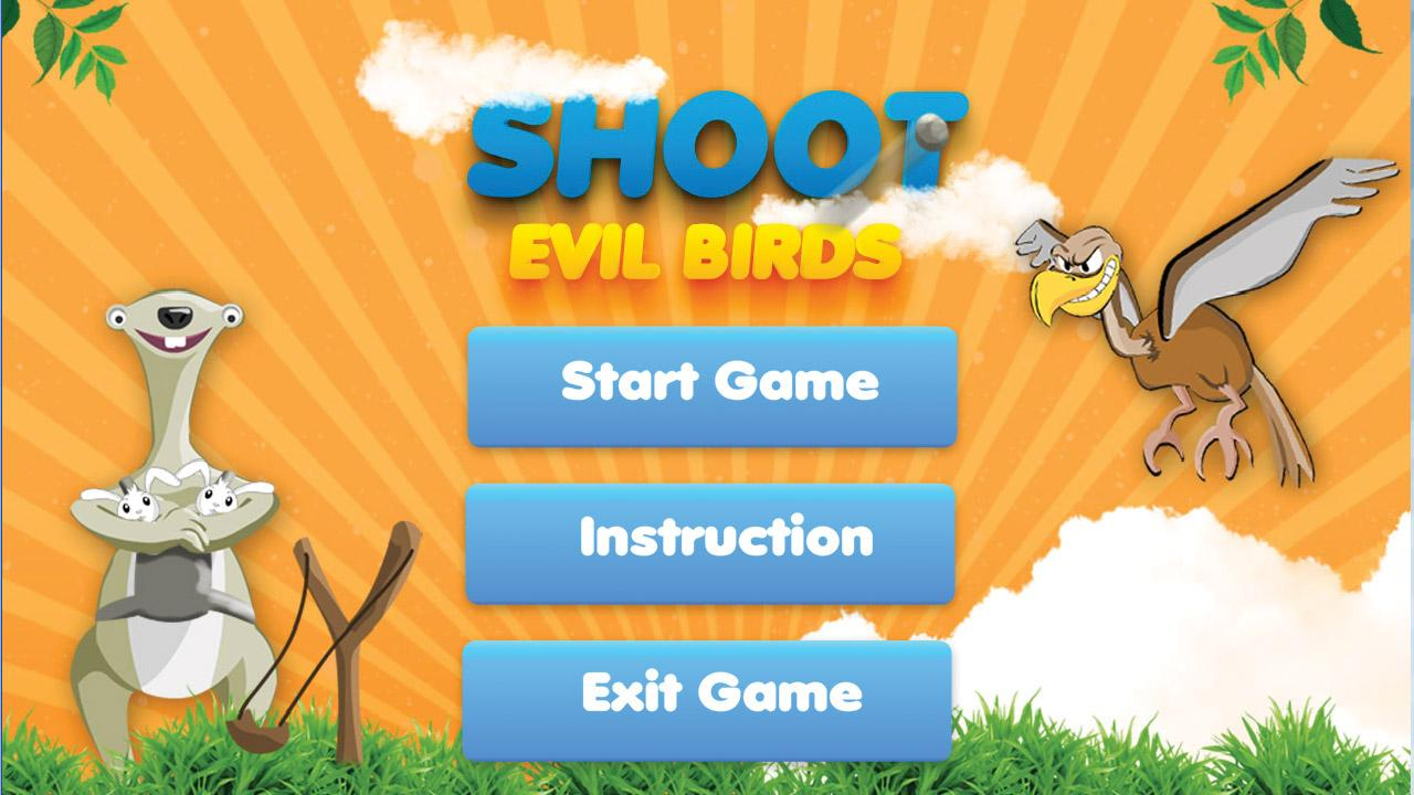 Shoot Birds Slingshot Game - screenshot
