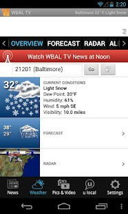 WBALTV Baltimore news, weather - screenshot thumbnail