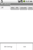 Screenshot of 555 Timer Calculator (NE555)