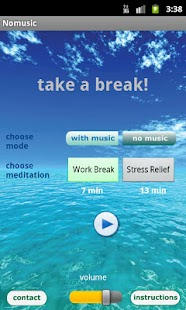 Free Meditation - Take a Break - screenshot thumbnail