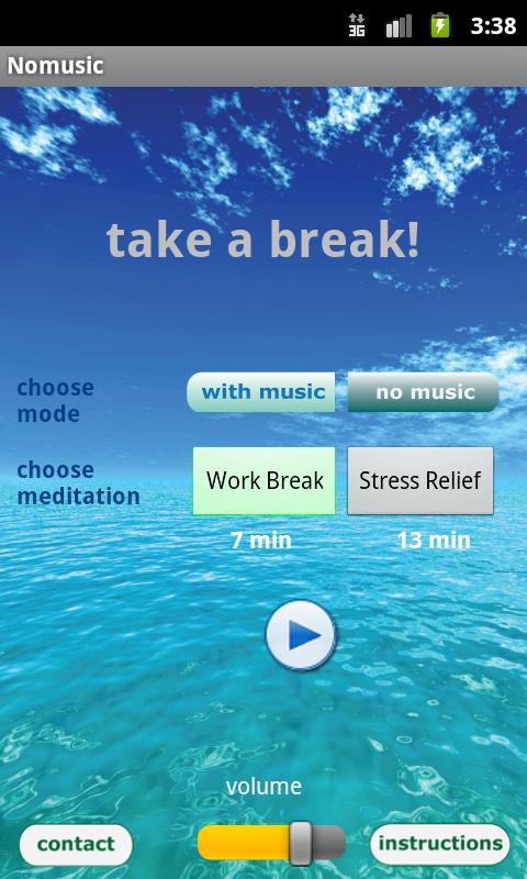 Free Meditation - Take a Break - screenshot