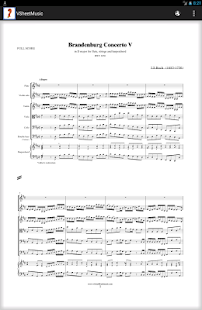 Virtual Sheet Music- screenshot thumbnail