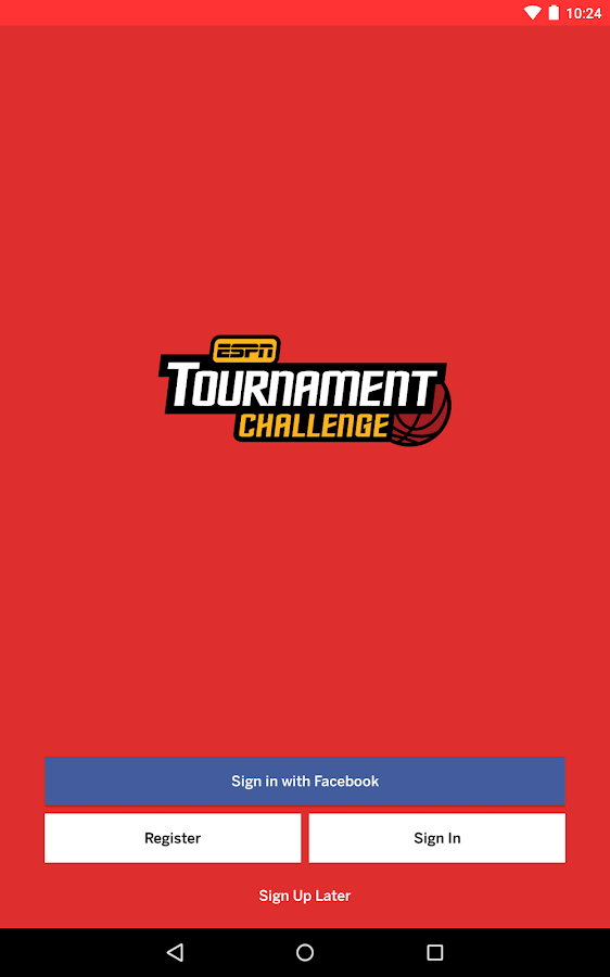 ESPN Tournament Challenge- screenshot
