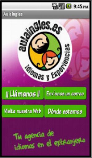 【免費商業App】Aulaingles contacto-APP點子