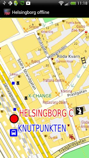 Helsingborg offline map