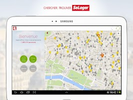 Screenshot of SeLoger - location, immobilier