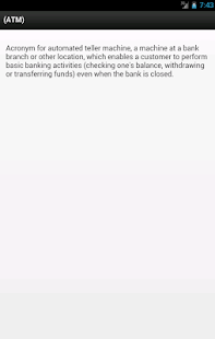 Banking Financial Dictionary 財經 App-癮科技App