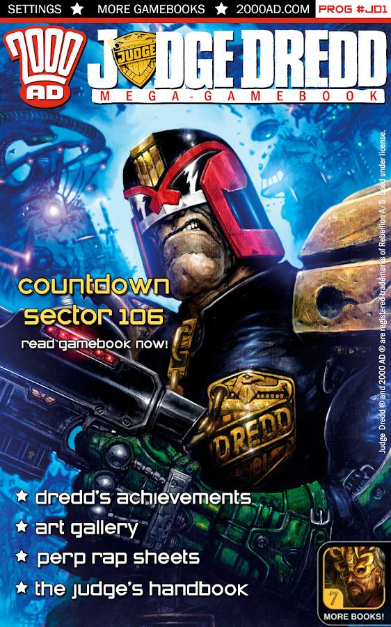 Judge Dredd: Countdown Sec 106 - screenshot