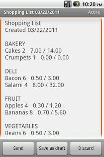 Shopping List Maker Plus- screenshot