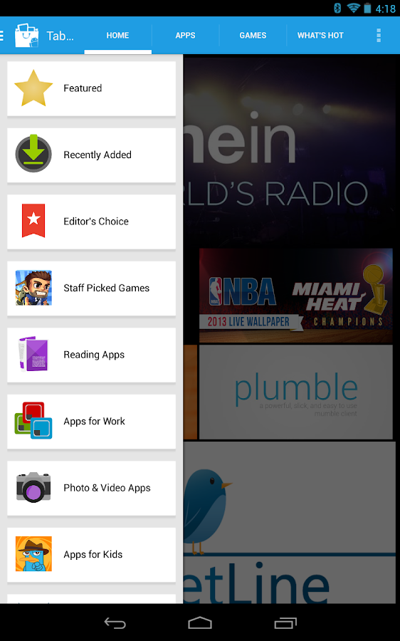 Tablified Market - Tablet Apps - screenshot