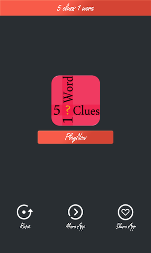 5 Clues One Word