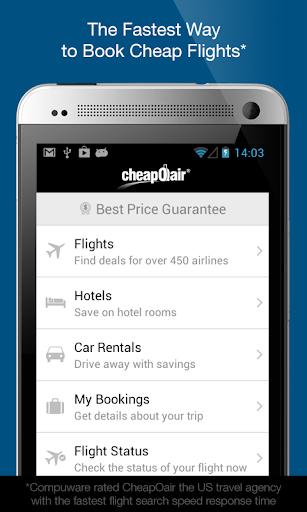 CheapOair Flights Hotel Car