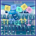 Dream Blue Keyboard icon