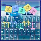 Мечта Голубой Keyboard icon