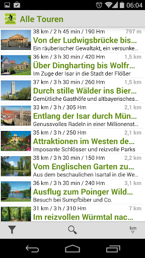 Radtouren Bayern