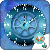 Clock Wheel Free Widget