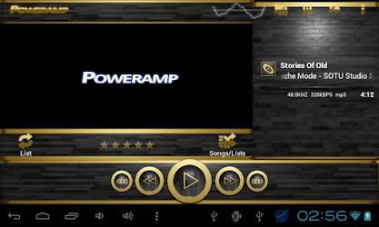 Tải poweramp skin black wood cho Android - Download APK Miễn phí