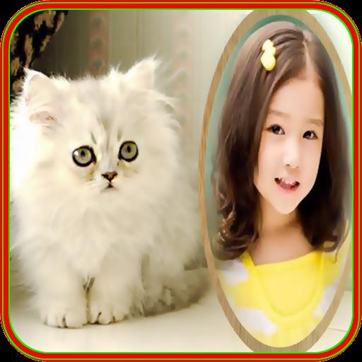 photo frames cat pic frames 攝影 App LOGO-硬是要APP