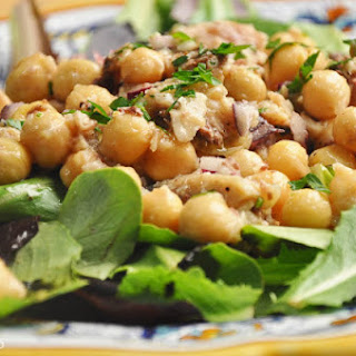 Insalata di sardine e ceci (Sardine and Chickpea Salad)