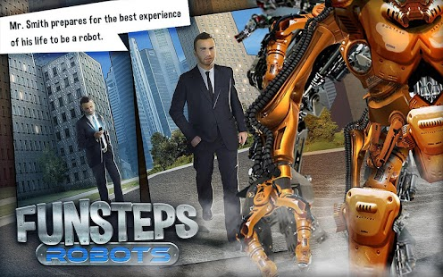 Fun Steps - Robots - screenshot thumbnail