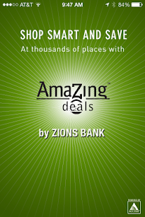 Zions Bank AmaZing Deals- screenshot thumbnail